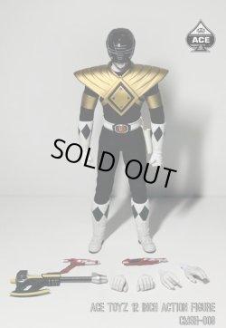 """画像5: Ace Toyz 1/6 Power Rangers パワーレンジャー """"Golden Red Hero"""" """"Golden Black Hero"""" アクションフィギュア CMSH-08 CMSH-09 *予約"""
