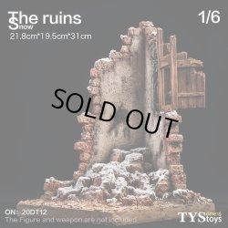 画像1: TYSTOYS 1/6 積雪廃墟 シーン The Ruins Snow ジオラマ 20DT12 *予約