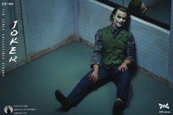 画像1: DJ-CUSTOM 1/6 Criminal Joker ジョーカー アクションフィギュア EX-001 *予約
