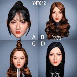 画像1: YMTOYS 1/6 YMT042 女性ヘッド Ruyi 4種 *予約