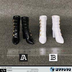 画像1: ZYTOYS 1/6 ZY1023 女性フィギュア用 ハイトップ ブーツ 2種 TBLeague *予約