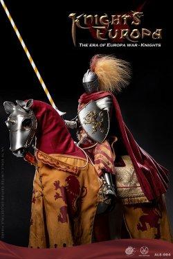 画像1: POPTOYS 1/6 グリフィンナイト 騎士 / 戦馬 白馬 シルバーアーマー Ver. アクションフィギュア ALS004 ALS006 *予約