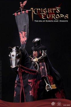 画像1: POPTOYS 1/6 ドラゴンナイト 騎士 / 戦馬 黒馬 ブラックアーマー Ver. アクションフィギュア ALS005 ALS007 *予約