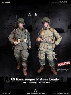 画像1: Facepoolfigure 1/6 FP002 アメリカ陸軍第101空挺師団第506パラシュート歩兵連隊 第2大隊E中隊 中隊長 アクションフィギュア 2種 *予約