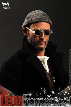 画像1: DJ-Custom 1/6 The Professional Leon - レオン ヘッド2個 ≪アップグレード版≫ コレクタブル アクションフィギュア DJ-16001 *予約