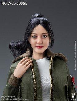 画像3: VERYCOOL 1/6 アジア美人女性ヘッド 2種 VCL-1006 D/E *予約