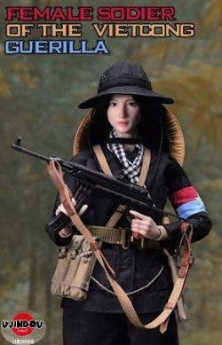 画像1: UJINDOU 1/6 ベトナム戦争 南ベトナム解放民族戦線 ベトコン ゲリラ 女性兵士 アクションフィギュア UD9006 *予約