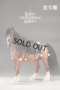 画像1: Mr.Z 1/6 シャイアー 馬 2.0 ハーネス 馬具 Shire Horse 全5種 MRZ058 *予約