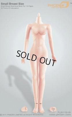 画像1: Phicen/TBLeague Female シームレス body スモールバスト(色白カラー)(お取り寄せ品)