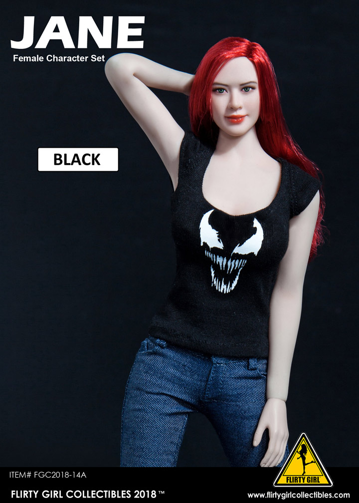 Triad Toys Nite Out 1.5 Black//Red Female Accessory Outfit Set