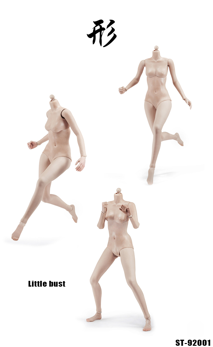 1//6 Xing Super Female Seamless Body w//Stainless Steel Skeleton in Tan 92001 C