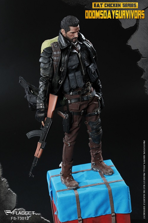 """FLAGSET FS-73012 1//6th Doomsday Survivors M16A4 Rifle For 12/"""" Action Figure Toys"""